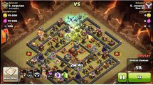 Clash of Clans - Best Witches attack 3 star Town Hall 10 max Def