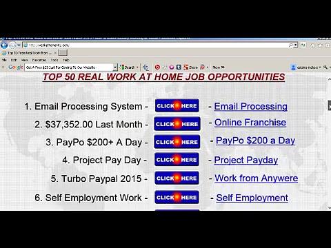 work from home jobs legitimate online jobs 2015 work-at-home jobs