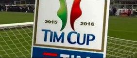 Alessandria - Milan 0-1: video gol Coppa Italia