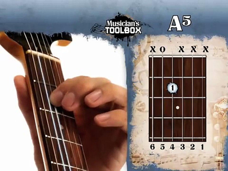 Musicians Toolbox - Learn Guitar Chords - A5th