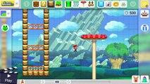 Super Mario Maker: Spring In My Step! (Expert #14)
