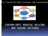 Custom Soft Medical billing and coding Software