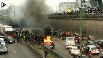 Taxis : plusieurs arrestations pour incendies, violences volontaires et port d'armes