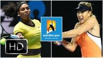 Serena Williams vs. Maria Sharapova | 2016 Australian Open Quarterfinal | Highlights HD