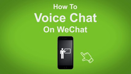 How to Voice Chat on WeChat  - WeChat Tip #1