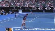 Novak Djokovic vs Kei Nishikori 2016-01-26 Quarter Finals tennis highlights HD720p50 by ACE
