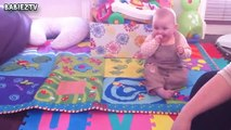 Happy Babies Laughing at Dogs and Cats - Babies and Pets Compilation