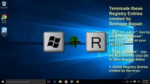How to Remove Reimage Repair