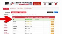 Auto Binary Signals (Main ABS) Video 3 Live Trading - July 8th 2015