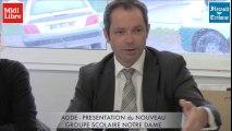 AGDE - 2016 - PRESENTATION DU NOUVEAU GROUPE SCOLAIRE NOTRE DAME