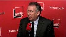 """François Bayrou : """"Aucun pays ne peut accepter d'avoir des vagues de réfugiés sans les réguler"""""""