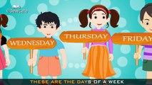 Edewcate english rhymes | Days of the Week Nursery Rhyme