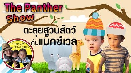 The Panther Show ตอน ตะลุยสวนสัตว์ กับแม็กซ์เวล