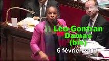 Le meilleur des envolées lyriques de Christiane Taubira  au parlement