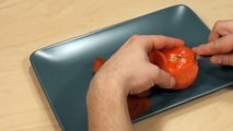 010. Darmowy kurs carvingu - róża z pomidora _ Free carving course - tomato rose