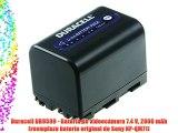 Duracell DR9599 - Bater?a de videoc?mara 7.4 V 2800 mAh (reemplaza bater?a original de Sony