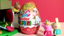 Peppa Pig & R playing in the Park on  Giant Egg SurprisePlay doh Peppa Pig Toys Alphabet Peppa Pig English Episode Toy Surprise Egg - - isney Princess Surprise Eggs Frozen Peppa Pig Play Doh cars Pets Palace & kinder Surprise Eggs Frozen Play Doh Peppa Pi