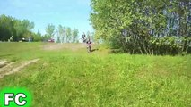 Ultimate BIKE and MOTORBIKE Fails 2015 ★ Bicycle VS Motorcycle FAILS Compilation ★