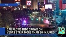 Las Vegas crash: drunk driver plows into crowd on Las Vegas Strip, at least one killed