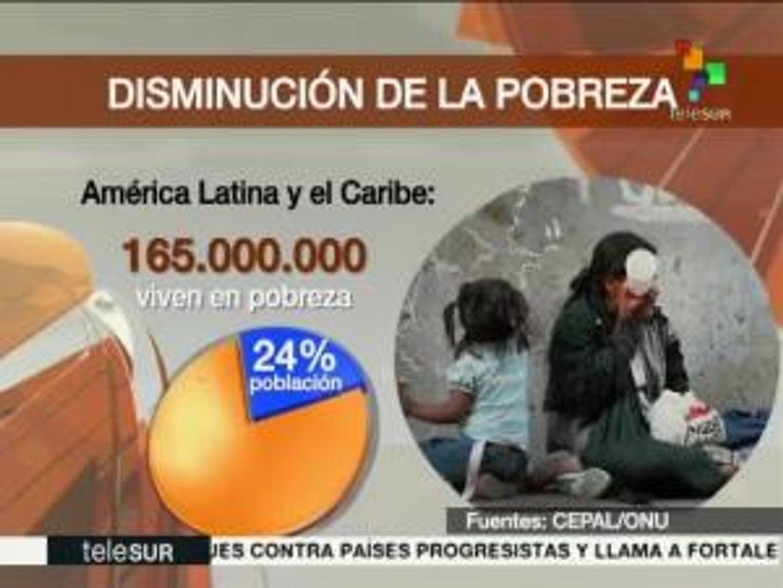 Gobiernos progresistas han reducido la pobreza en América Latina