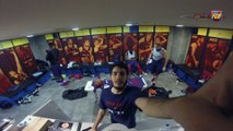 FCB Basket: FC Barcelona players discover the new locker room look
