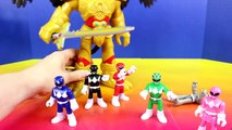 Mighty Morphin Power Rangers Legacy White Tigerzord Saves Imaginext Power Rangers From Rit
