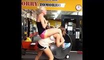 Worst training tandem ever - Dumb girl
