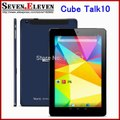 Cube Talk10 U31gt 3G Tablet Cube talk 10 Android Tablet MTK8382 Quad Core 10.1&#39-&#39- IPS 1280x800 Screen Dual Cameras OTG WCDMA-in Tablet PCs from Computer