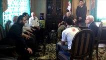 McCain's Fraternization with ISIS Terrorists Webster Tarpley (World Crisis Radio 9/20/2014