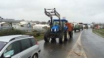Crise agricole : blocage de l'A84