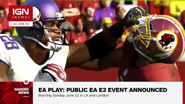 EA Play: The Public Electronic Arts E3 Event Announced – IGN News (720p FULL HD)