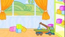 Mes jouets préférés - La petite voiture et la dépanneuse | Dessins animés en français  Fun Fan FUN Videos