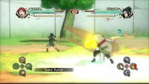 Naruto Shippuden: Ultimate Ninja Storm Generations [HD] - Gaara Vs Young Sasuke