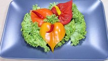 022. Free vegetable carving course pepper anthurium _ Darmowy kurs carvingu anturium z papryki