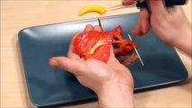 023. Free vegetable carving course pepper anthurium II _ Darmowy kurs carvingu anturium z papryki II