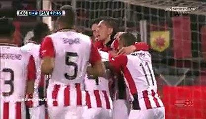 Jorrit Hendrix Incredible Goal HD - Excelsior 0-2 PSV - 24-01-2016 Eredivisie