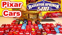 Cars Radiator Springs 500 1/2 Off-Road Rally Race Track & Lightning McQueen Play Doh Surpr