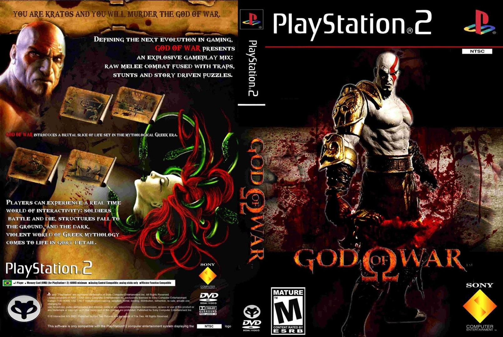 God of War 1 - God Mode (very hard) - #1 Prologue PS2