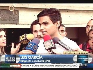 Estudiantes y autoridades de la Upel Miranda exigen más seguridad