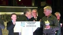 Hermann reçoit le Grand prix de la ville d'Angoulême