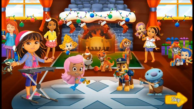 Cartoon Gaemplay Holiday Episode of The Bubble Guppies, Dora, Umizoomi