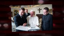 Pope Francis Leonardo DiCaprio. The Cross is the first Key Part 2