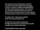 M3 BITURBO 1100HP vs FERRARI MODENA
