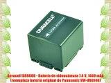 Duracell DR9608 - Bater?a de videoc?mara 7.4 V 1440 mAh (reemplaza bater?a original de Panasonic