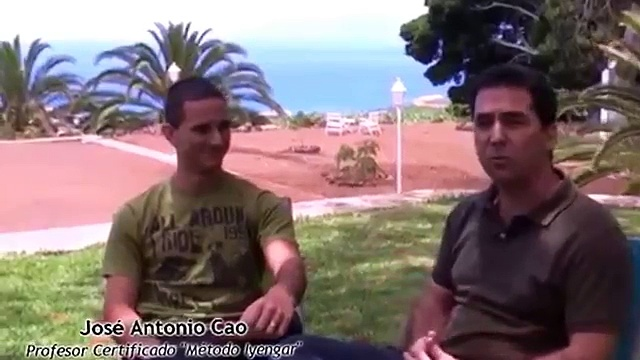 Yoga Iyengar   Entrevista Jose Antonio Cao Clases Yoga