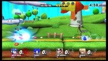 Mega Man Classic Mode - Super Smash Bros Wii U Gameplay