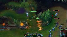 League of Legends Cassiopeia Mid gameplay (double jungler power :D)