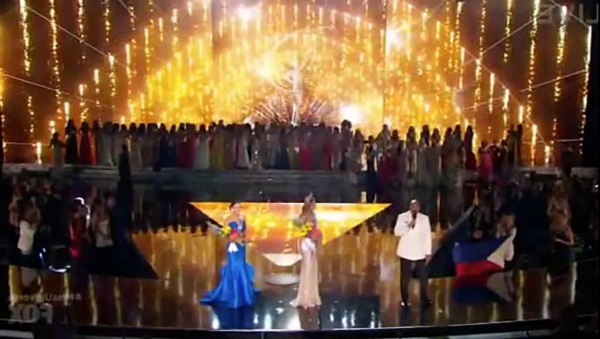 Steve Harvey Miss Universe FAIL 2015 Steve Harvey crowns Miss Colombia instead of Miss Phi