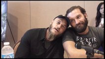 Travis Fimmel and Clive Standen Interview Vikings Season 3