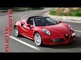 Alfa Romeo 4C Spider - News di Autolink - Ruote in Pista n. 2286 - HD